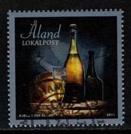Aland, Yv 348 Jaar 2011,  Gestempeld, Zie Scan - Aland