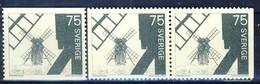 +D2958. Sweden 1971. Mill. Michel 711A+pairD. MNH(**) - Suède