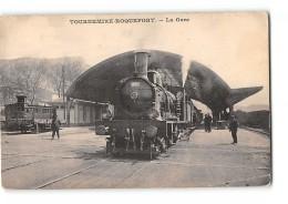 CPA 12 Tournemire Roquefort La Gare Et Le Train - Francia