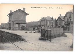 CPA 14 Bernieres La Gare - France