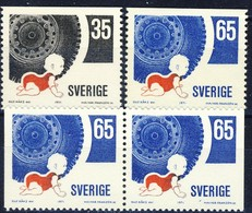 +G2045. Sweden 1971. Trafic Security. Michel 721-22. MNH(**) - Suède