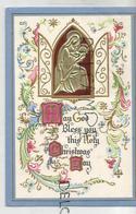 May God Bless You This Holy Christmas Day. Médaillon Métallique. - Autres