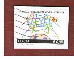 ITALIA  - 2016 OSPEDALE PEDIATRICO MEYER   -    USED - 6. 1946-.. Republic