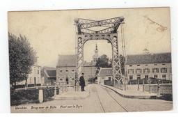 Werchter.  Brug Over De Dijle.  Pont Sur La Dyle 1908 - Rotselaar