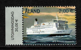 Aland, Yv 381 Jaar 2013, Hoge Waarde,   Gestempeld, Zie Scan - Ålandinseln