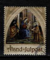 Aland, Yv 384 Jaar 2013, Kerstmis,  Gestempeld, Zie Scan - Aland