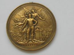 Jolie Médaille - DEVOUEMENT -COURAGE   **** EN ACHAT IMMÉDIAT **** - Royal / Of Nobility