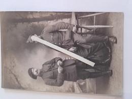 1915-1918 Poilu 16 Eme Bataillon De Chasseurs Croix De Guerre Médaille Bléssé Briscar Belge Tranchee 14-18 1914-1918 WW1 - War, Military