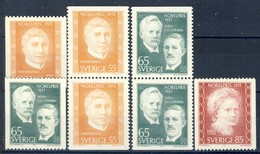 +G2048. Sweden 1971. Nobel Price 1911. Michel 734-36. MNH(**) - Suède