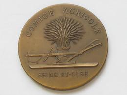 Médaille Arthus Bertrand - COMICE AGRICOLE - SEINE ET OISE   **** EN ACHAT IMMÉDIAT **** - Professionnels / De Société