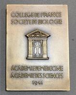 Justin Jolly - Collège De France, Société De Biologie - 1941 - Professionnels / De Société