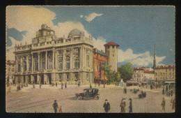 Torino. *Piazza Castello. Palazzo Madama* Ed. A. Traldi Nº 12. Nueva. - Palazzo Madama
