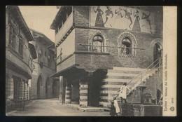 Torino. *Interno Del Castello Medioevale* Ed. Brunner & C. Nº 4602. Nueva. - Otros Monumentos Y Edificios
