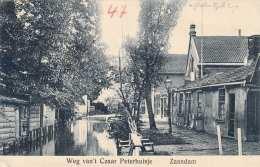 ZAANDAM - Weg Van't Czaar Peterhuisje, Gel.1912 Von Zaandam Nach Riedau In OÖ - Zaandam