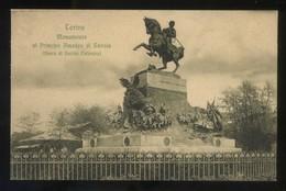 Torino. *Monumento Al Principe Amedeo Di Savoia...* Ed. A.D.T. Nueva. - Otros Monumentos Y Edificios