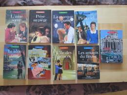 9 LIVRES Collection Nous Deux Série Divers BE Format Poche Poids Total : 680 Gr - Books, Magazines, Comics