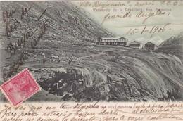 PERSPECTIVA DEL PUENTE DEL INCA, MENCOZA, RUECUERDO DE LA CORDILLERA. ED R ROSAUER. CIRCULEE CIRCA 1906- BLEUP - Argentinië