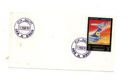 LAB415 - AJMAN UMM AL QIWAIN 31 Marzo 1973 . Lufthansa - Ajman
