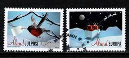 Aland, Yv 415-16 Jaar 2015, Reeks, Gestempeld, Zie Scan - Aland