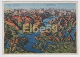 Italia, Lago Maggiore, Carta Idrografica E Orografica, Nuova - Carte Geografiche