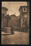 Torino. *Ingresso Al Borgo Del Castello Feudale* Nueva. - Lugares Y Plazas