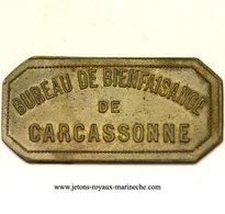 Carcassonne(11) Bienfaisance. Elie 15.3A  2Kg Pain Lt,Rect,c 20x42 Mm. - Monetary / Of Necessity