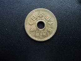 JAPON : 5 YEN   An 1 * (1989)  Y 96.1    SUP ** - Japon
