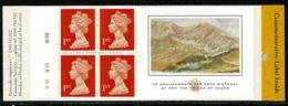 Ref 1237 - GB 1998 Stamp Booklet - SG HB16 - Prince Of Wales - Cylinder Number - Carné