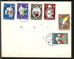 Sterstempel Agence Namur 12 25/10/1960 Op Niet-gelopen Brief Met COB UNICEF 1153-1158 (cote Delfosse E) - Marcofilia