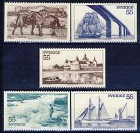 +G2051. Sweden 1972. Tourism. Michel 752-55. MNH(**) - Sweden