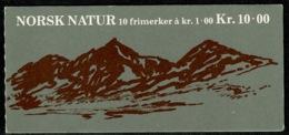 Ref 1237 - Norway 2 Mint Stamp Booklets - Face Value Kr20 - Booklets