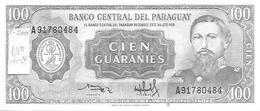 Paraguay  P-200  100 Guarani  1952    UNC - Paraguay