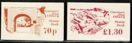 Ref 1237 - Guernsey 4 X Stamp Booklets - Guernsey