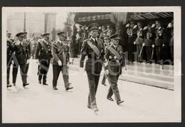 Postcard / ROYALTY / Belgique / België / Koning Leopold III / Roi Leopold III / Revue Des Troupes / 1937 / Bruxelles - Characters