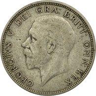 Monnaie, Grande-Bretagne, George V, Florin, Two Shillings, 1929, TTB, Argent - 1902-1971 : Monnaies Post-Victoriennes