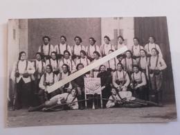 1918 Chasseurs à Pieds 8eme Bataillon Bourgerons Brelages Ersatz  Poilus Ww1 1WK 1914 1918 14-18 Tranchées - War, Military