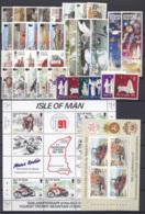 Man 1991 Annata Completa / Complete Year Set  **/MNH VF - Isola Di Man