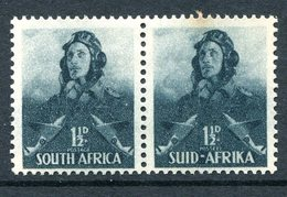 South Africa 1941-46 War Effort - 1½d Airman LHM (SG 90) - Tone Spot - South Africa (...-1961)