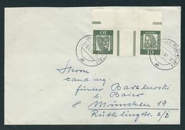 Brief Von Lindau -3.4.63 Nach München Mit Kehrdruck MiNr. KZ 1 202/Z/202 - [5] Berlin