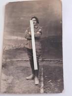 1916-1918 Chasseur 55 Eme Bataillon Cie Mitrailleuses Insignes Brassard Deuil   Poilus Ww1 1WK 1914 1918 14-18 Tranchées - War, Military