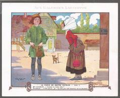 Grands Magasins Aux Galeries Lafayette - Chromo- La Farce De Maître Patelin Scène I - Illustrateur Henry Morin. - Other