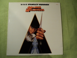 33 TOURS BO ORANGE MECANIQUE. 1972. FILM CULTE DE STANLEY KUBRICK. 46 127 TITLE MUSIC FROM A CLOCKWORK ORANGE / THE THI - Soundtracks, Film Music