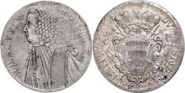 Ragusa, Taler, 1765, Justiert, Dav. 1639, Wz. Schrötlingsfehler, Ss-vz.  Ss-vz - Croatia
