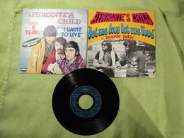 45 TOURS APHRODITE S CHILD. RAIN AND TEARS / I WANT TO LIVE. 1968 MERCURY 6173 691. EN SUS UNE POCHETTE VIDE LET ME LOV - Vinyl Records