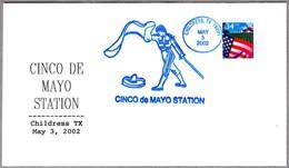 Cinco De Mayo. TOROS - BULLFIGHTING. Childress TX 2002 - Fiestas