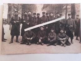 1914 Avignon  58eme 258 Eme Régiment D'infanterie Cartouchieres Ceinturons Erstz Toile Poilus Ww1 1WK 1914 1918 14-18 - War, Military