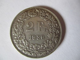 Switzerland: 2 Francs 1936 - Zwitserland