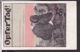 Postkarte Rotes Kreuz Opfertag 1917 - Rotes Kreuz