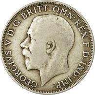 Monnaie, Grande-Bretagne, George V, Florin, Two Shillings, 1920, TTB, Argent - 1902-1971 : Monnaies Post-Victoriennes