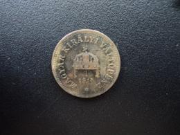 EMPIRE AUSTRO - HONGROIS : 2 FILLER   1914 KB   KM 481    TTB - Hungary